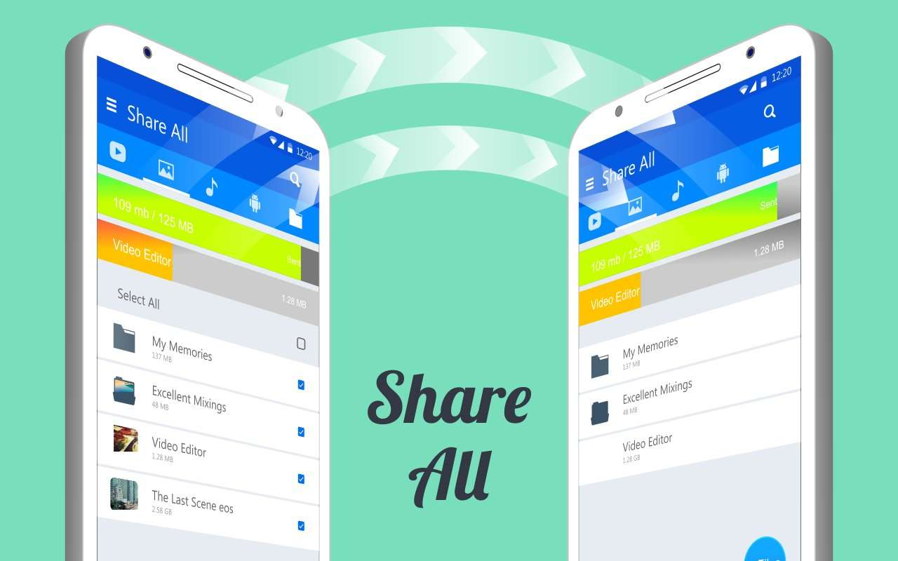 Share ALL - Best SHAREit Alternative Indian App