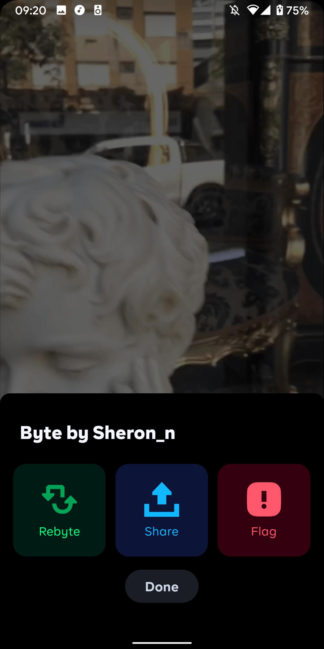 Byte Sharing