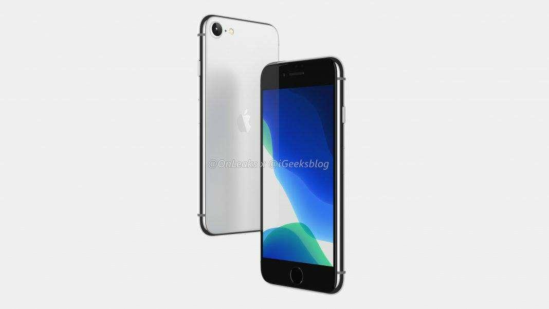 apple iphone SE 2 leaked