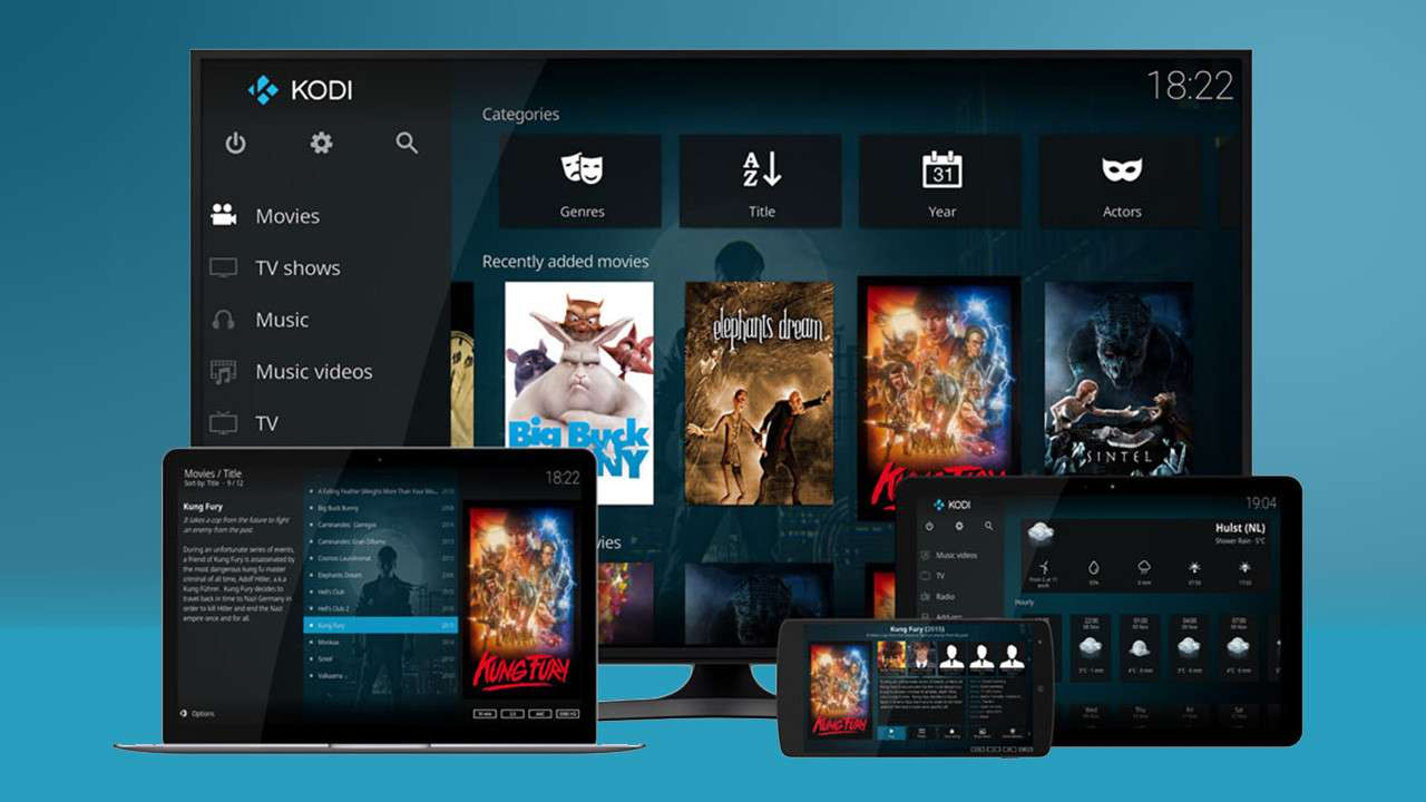 Kodi - Free Movie Apps