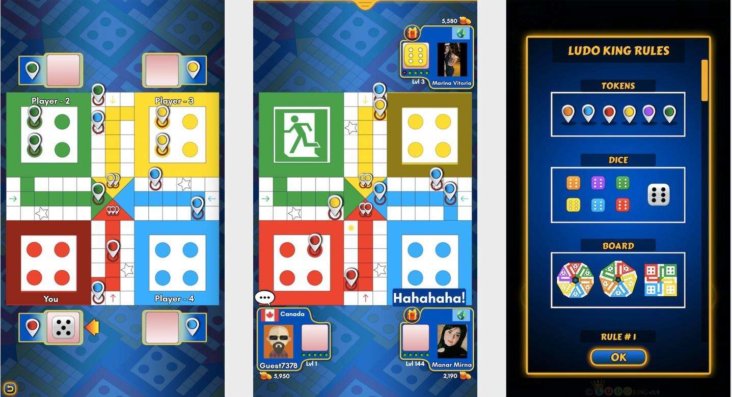 Ludo King- Board Games To Play At Home