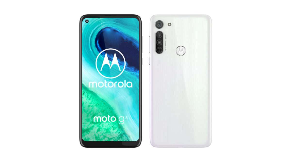 """moto g8 white - """"Moto G8 launched with Snapdragon 665 and triple rear cameras"""""""