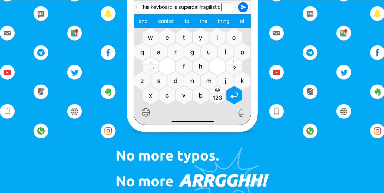 Typewise Keyboard - Best Android Apps April 2020
