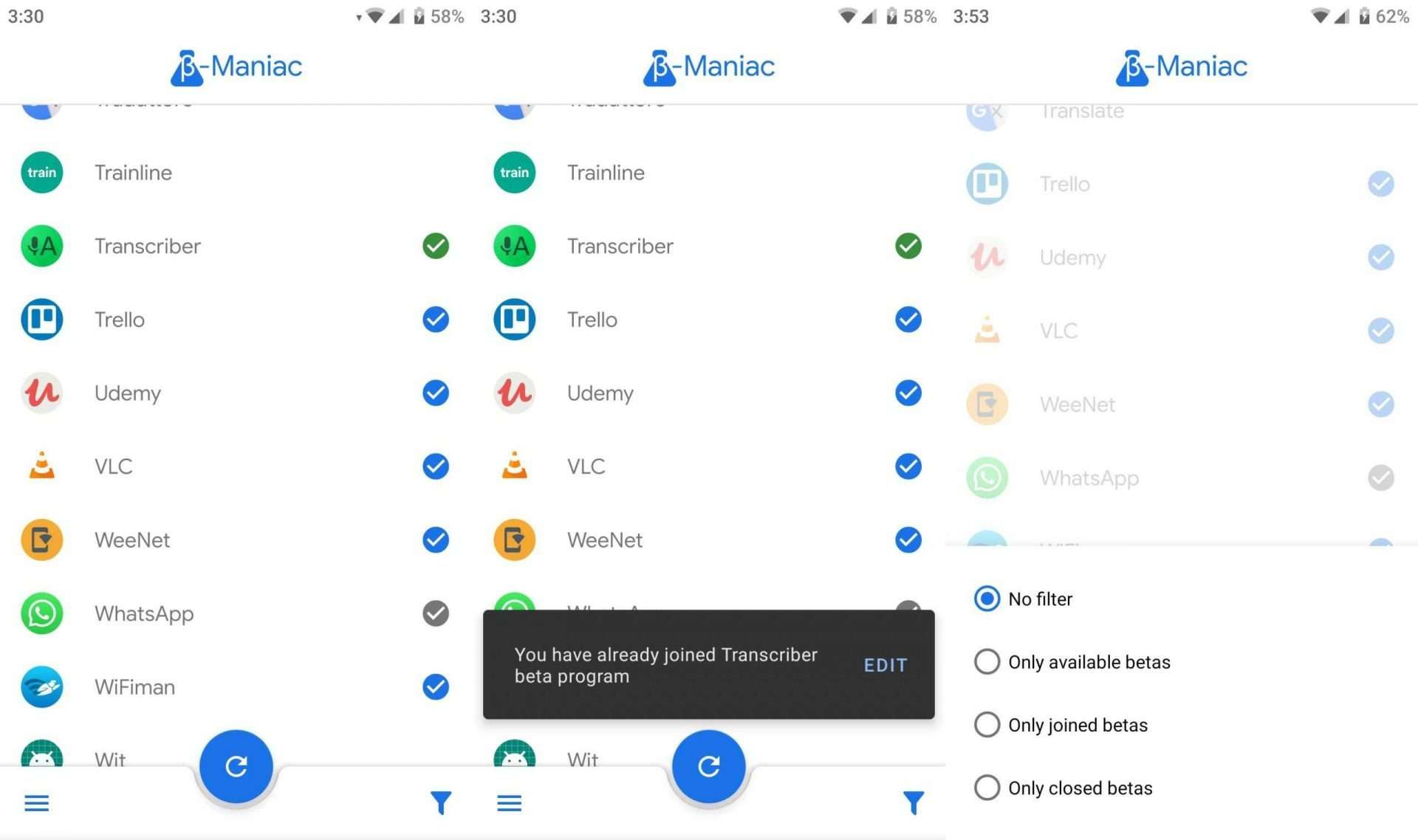 Beta Maniac - Best Android Apps (April 2020)