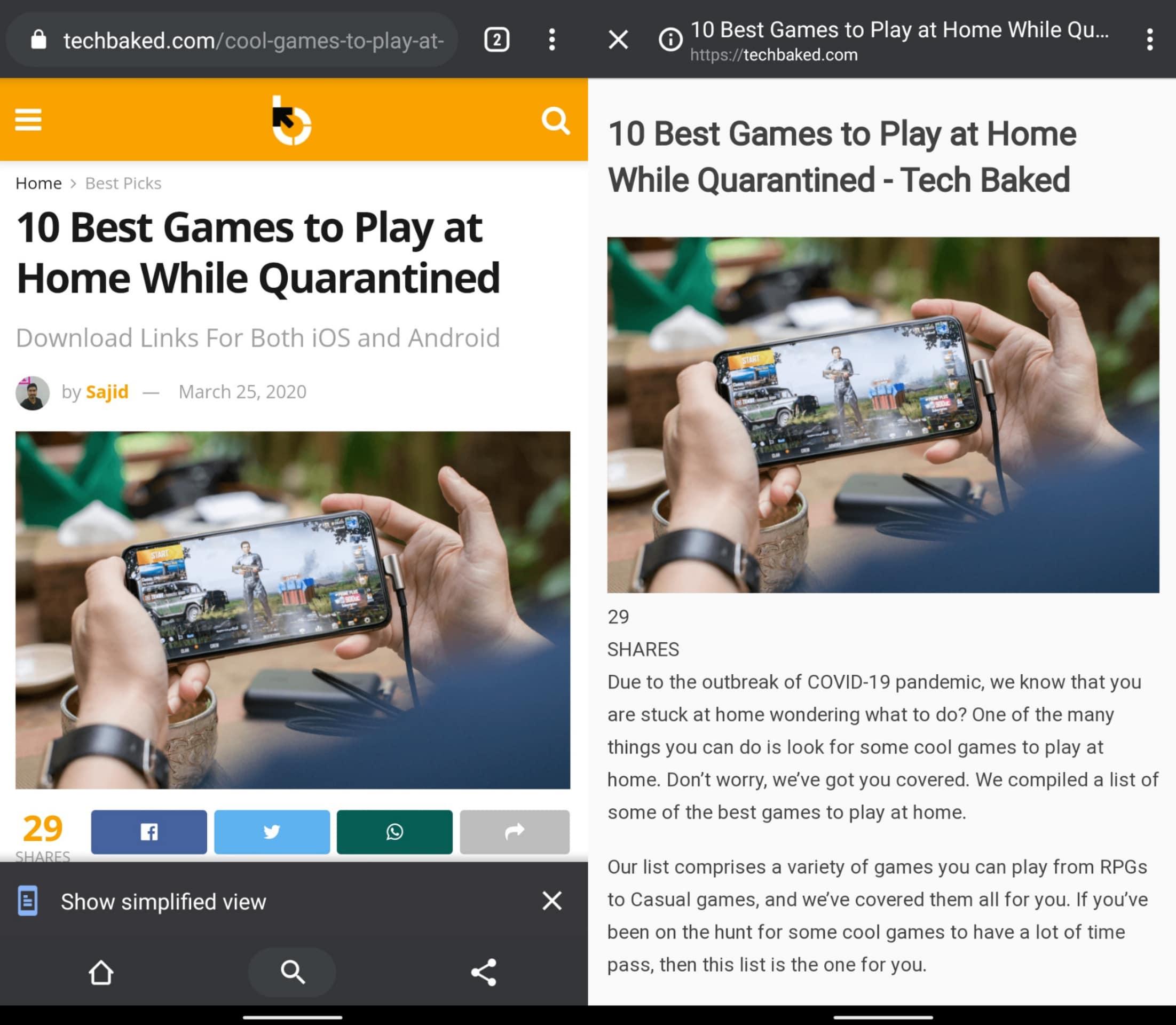 Reader Mode - Best Google Chrome Flags