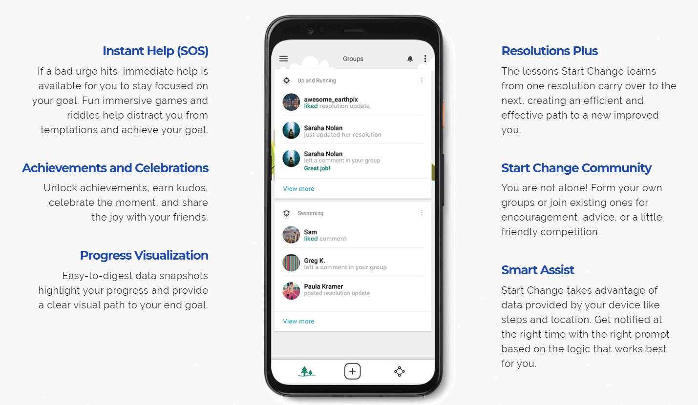 Start Change - Best Android Apps April 2020