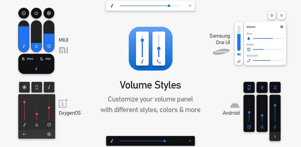 Volume Styles - Best Android Apps April 2020