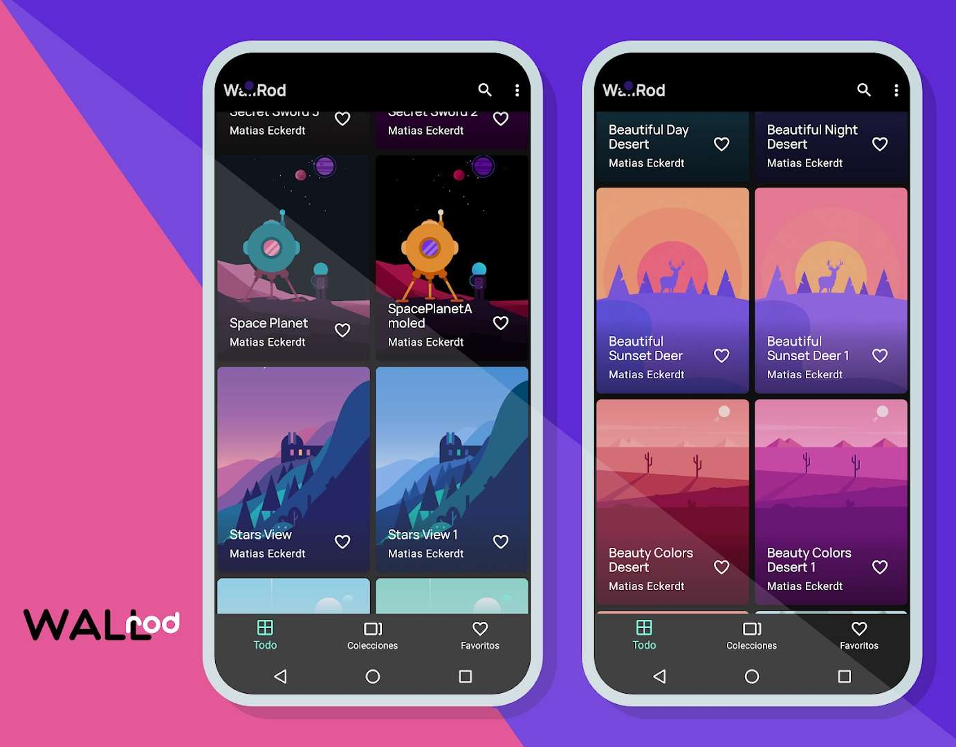 WallRod Wallpapers - Best Android Apps April 2020