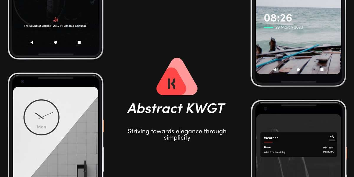 Abstract KWGT: Best Android Apps (May 2020)