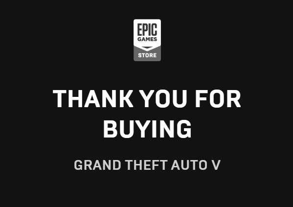 GTA V For Free (Epic Games)