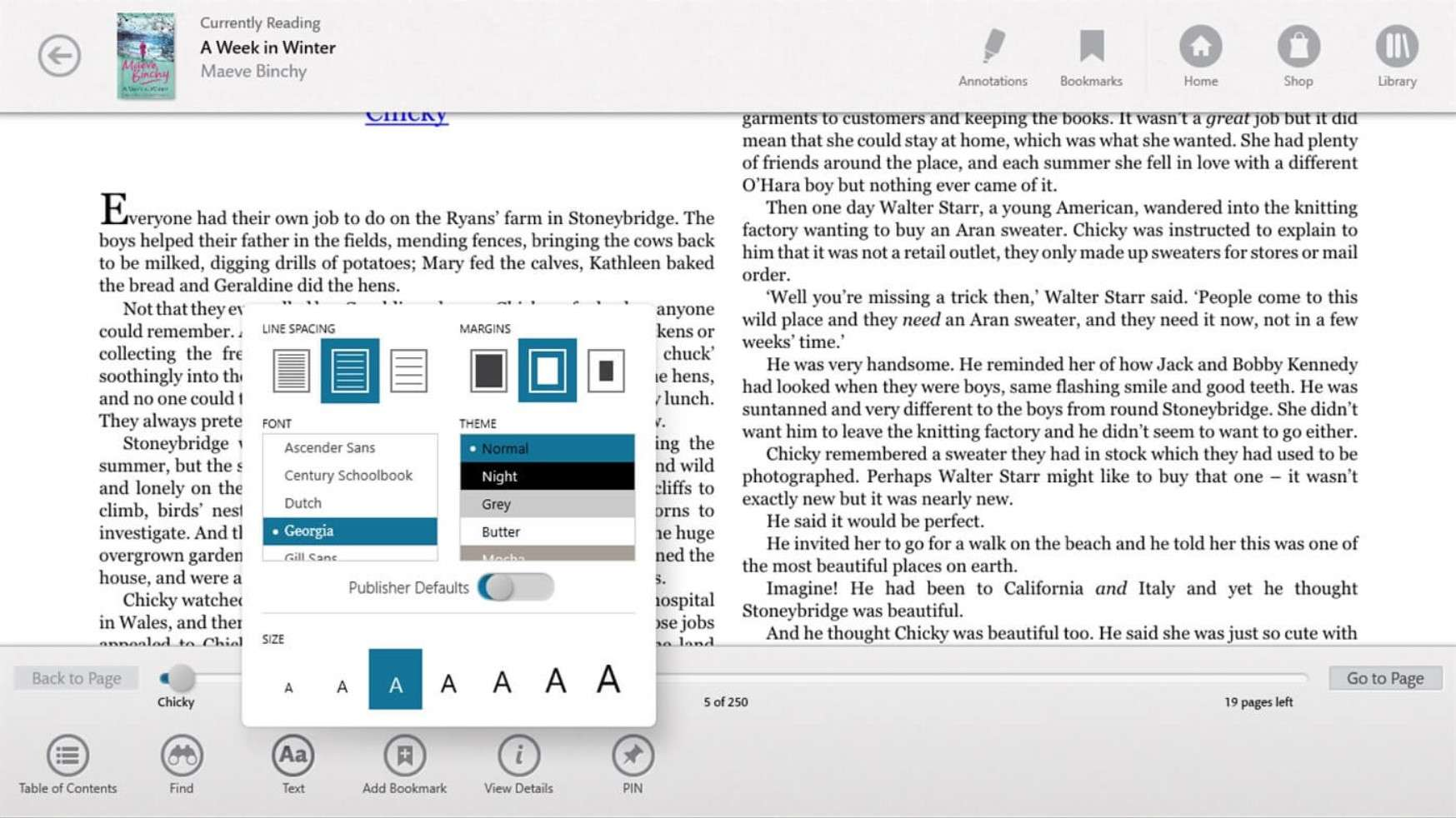 Nook Reading App - Best ePUB Reader for Windows
