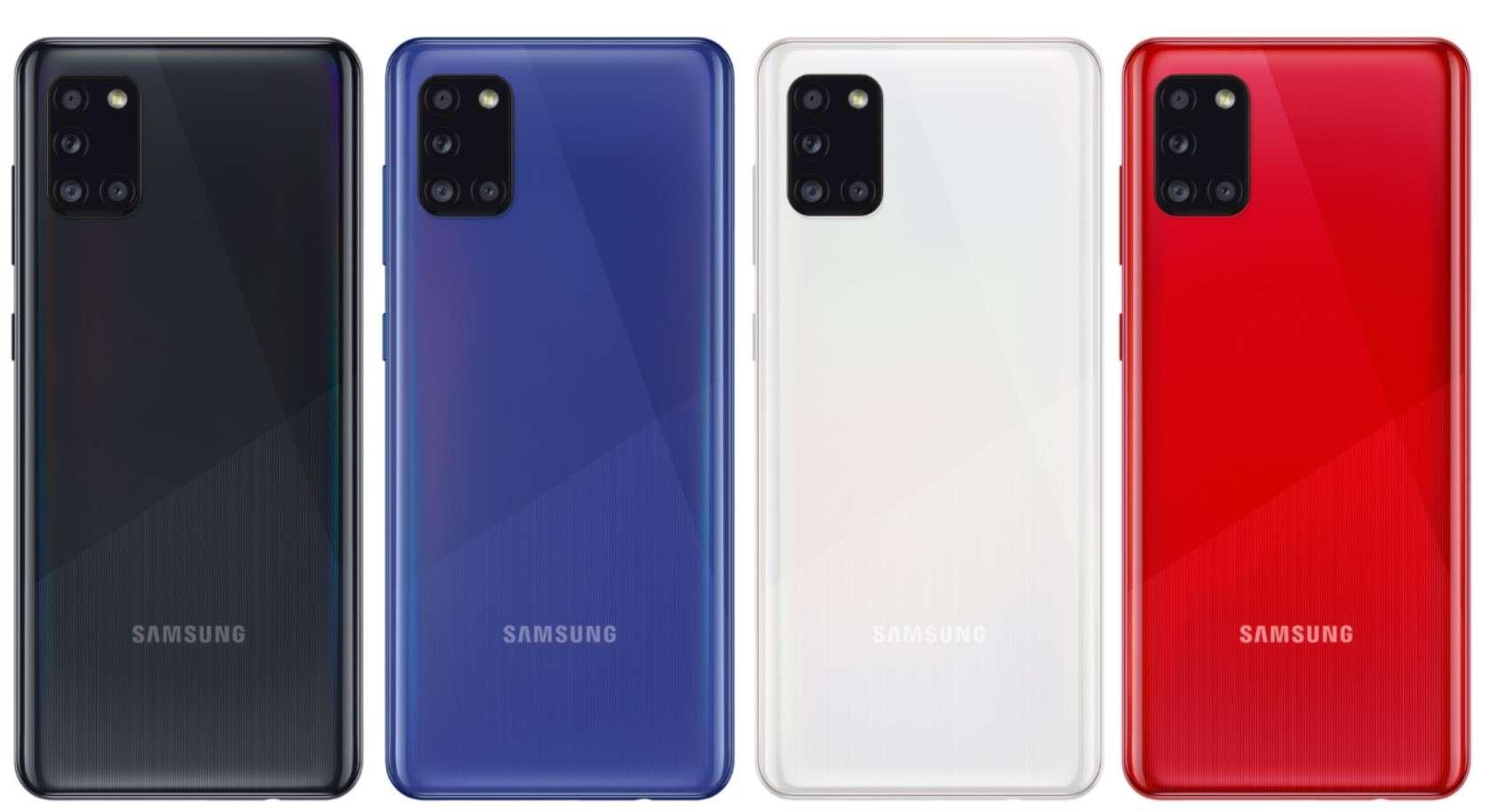 Samsung Galaxy A31 Colors