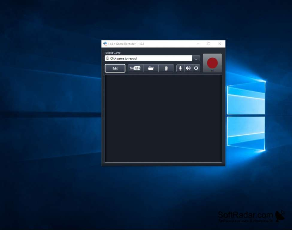 LoiLo Game Recorder - Best Game Recording Software for Windows