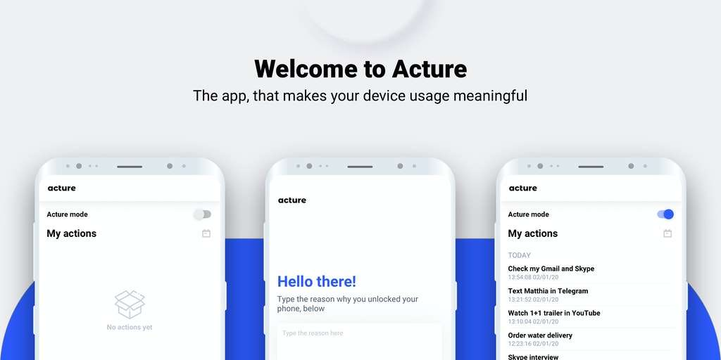 Acture - Best Android Apps (July 2020)