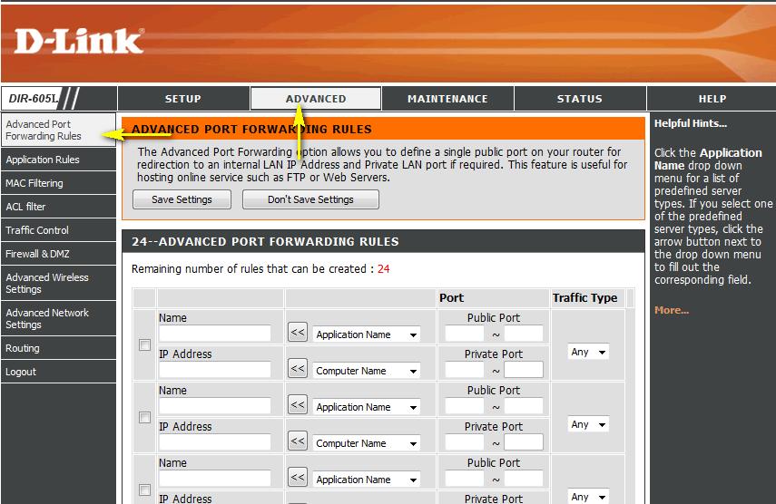 Port Forwarding on D-Link - Best Hamachi Alternatives for Virtual LAN Gaming