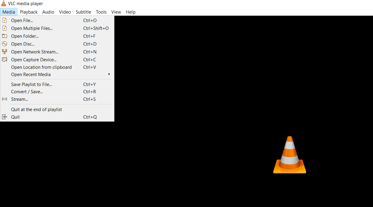Convert FLV file to MP4 file using VLC (Screenshot 01)