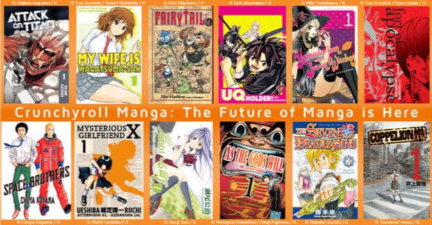 Crunchyroll Manga - Best Manga App For Android and iOS