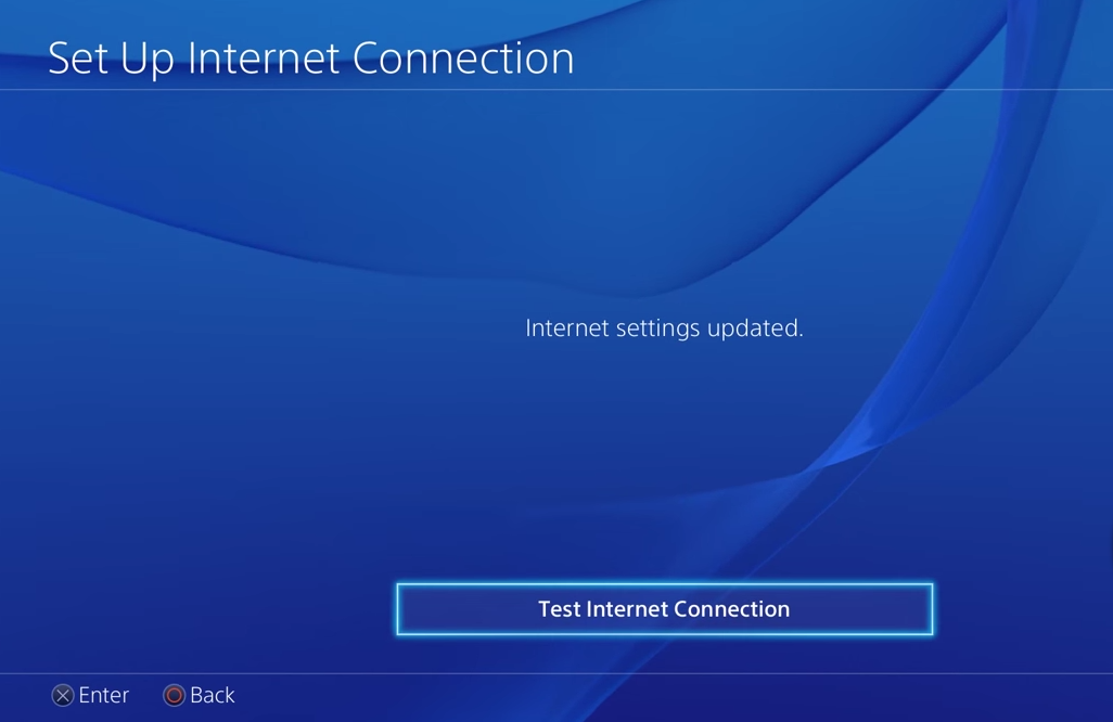 Test Internet Connection