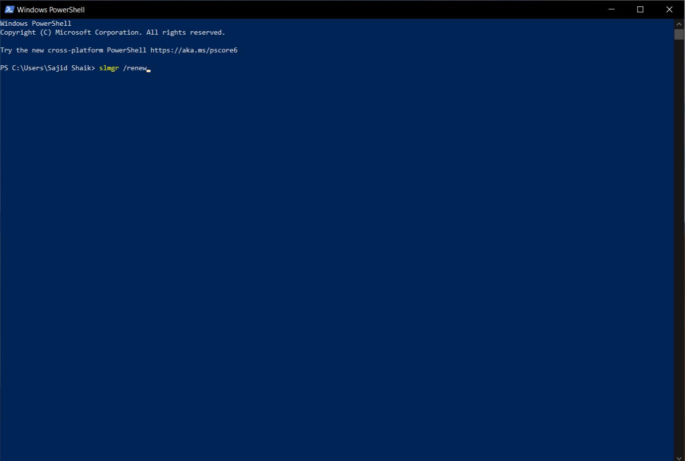 Remove Actiave Windows watermark using PowerShell