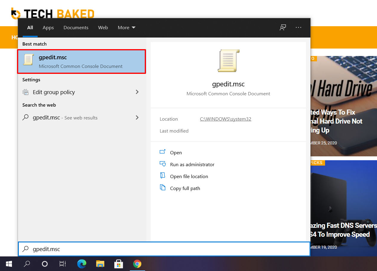 Access Group Policy Editor to Stop Automatic Updates on Windows