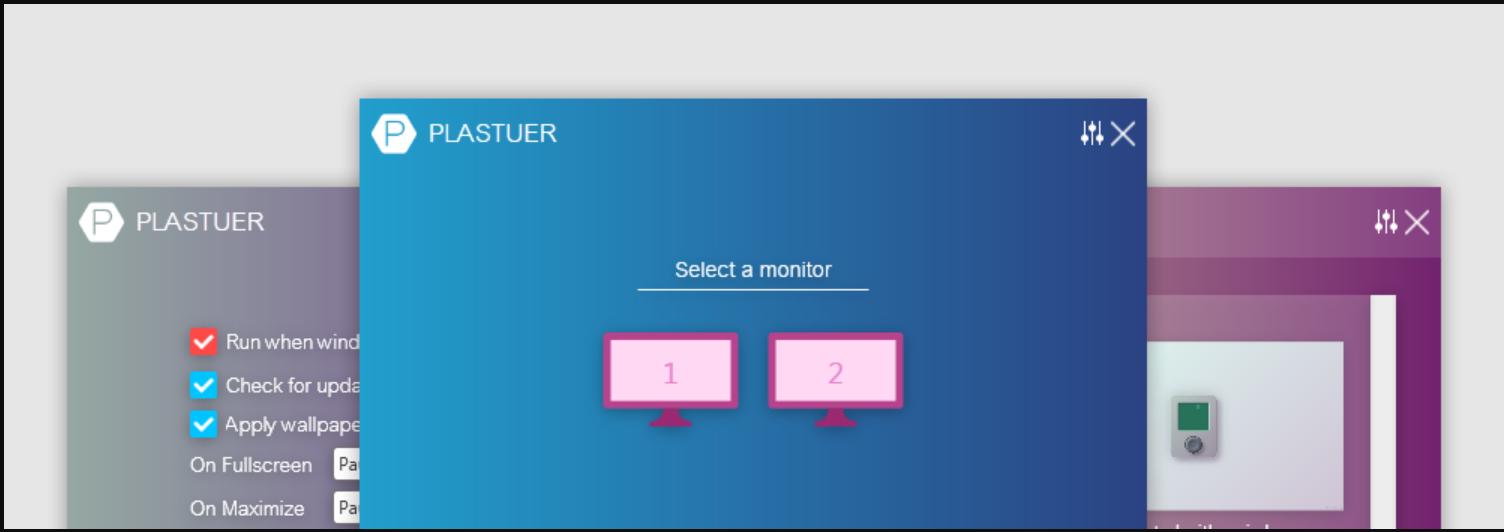 Set Animated Wallpaper on Windows 10 using Plastuer