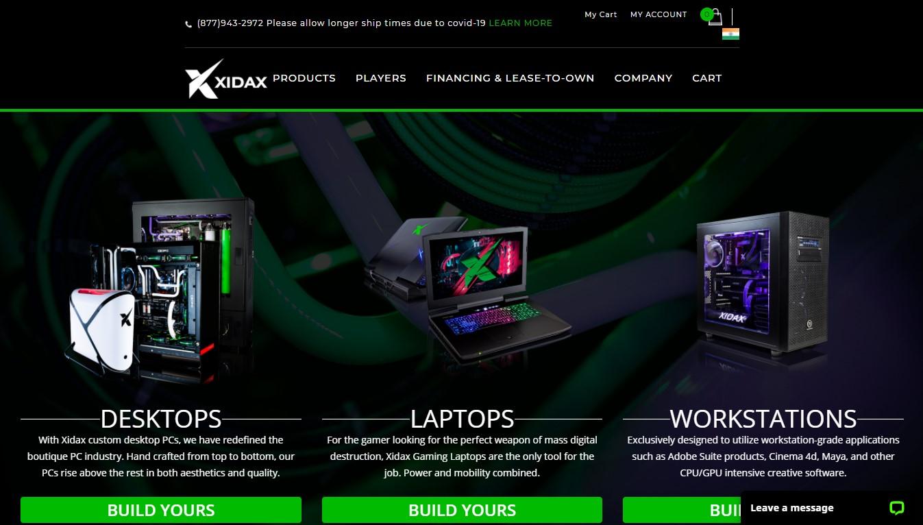 Custom PC Builder - Xidax