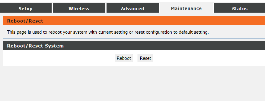 Connected, But No Internet Access: Reboot Router/Modem