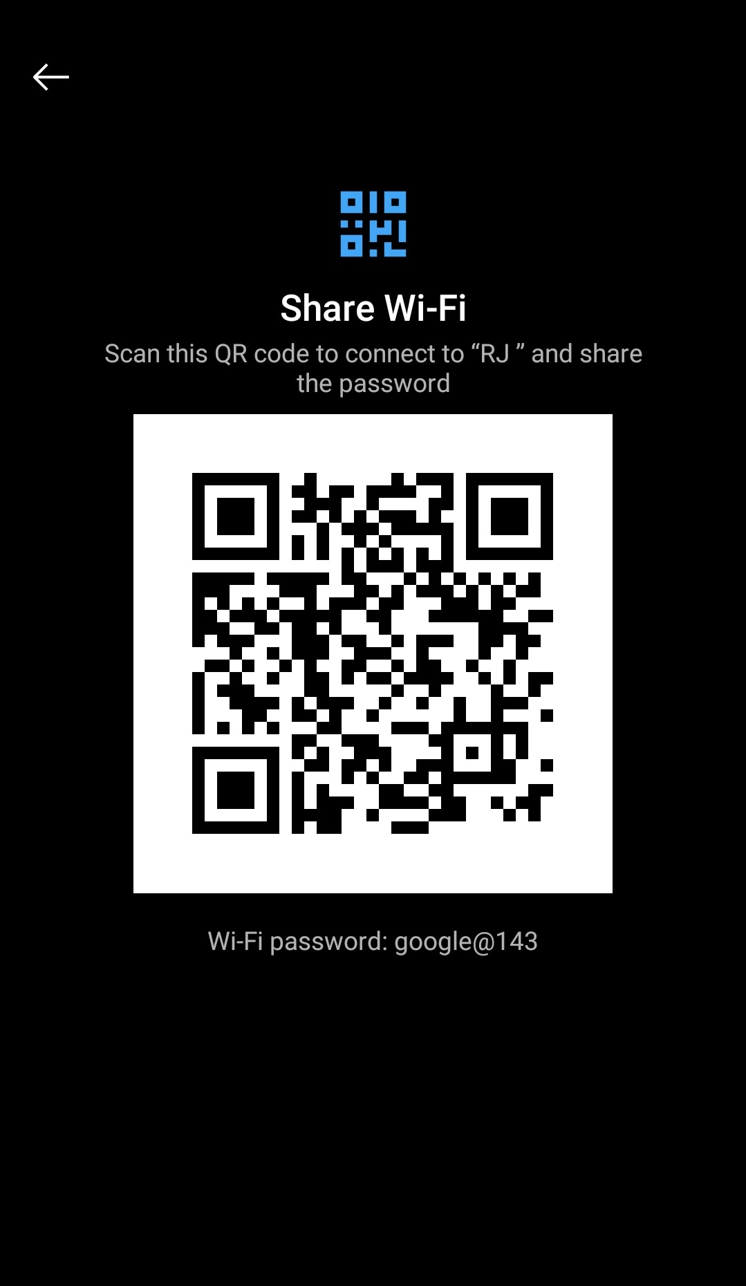 See Saved WiFi Password on Android (Method 1)