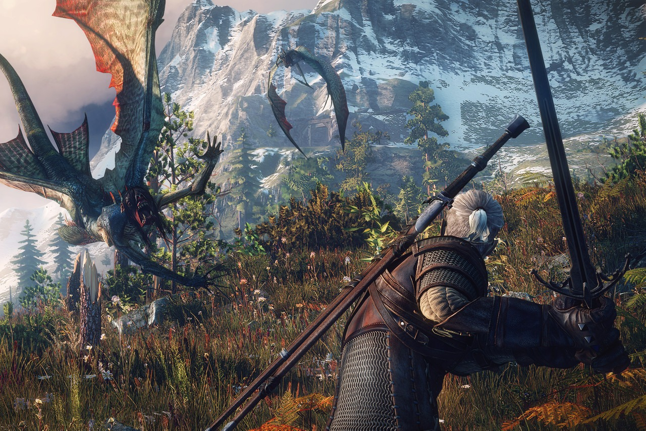 Best Games Like Skyrim - The Witcher 3: wild Hunt