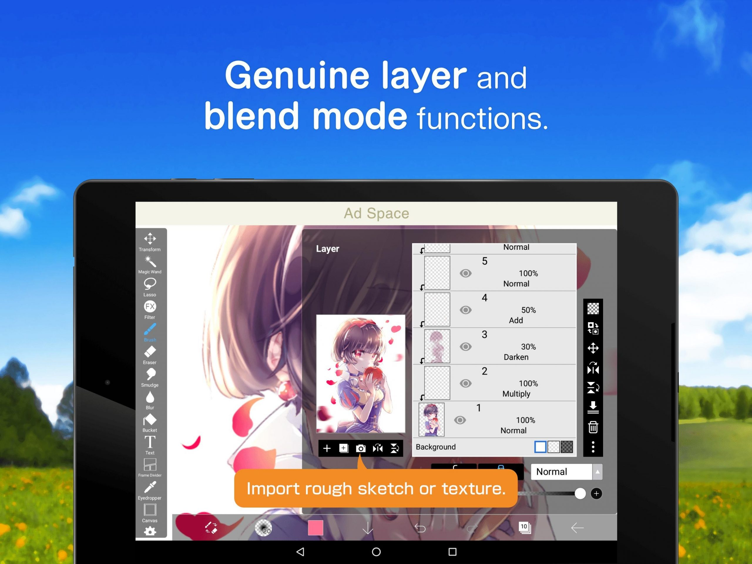 Best Procreate Alternative for Android: ibis Paint X