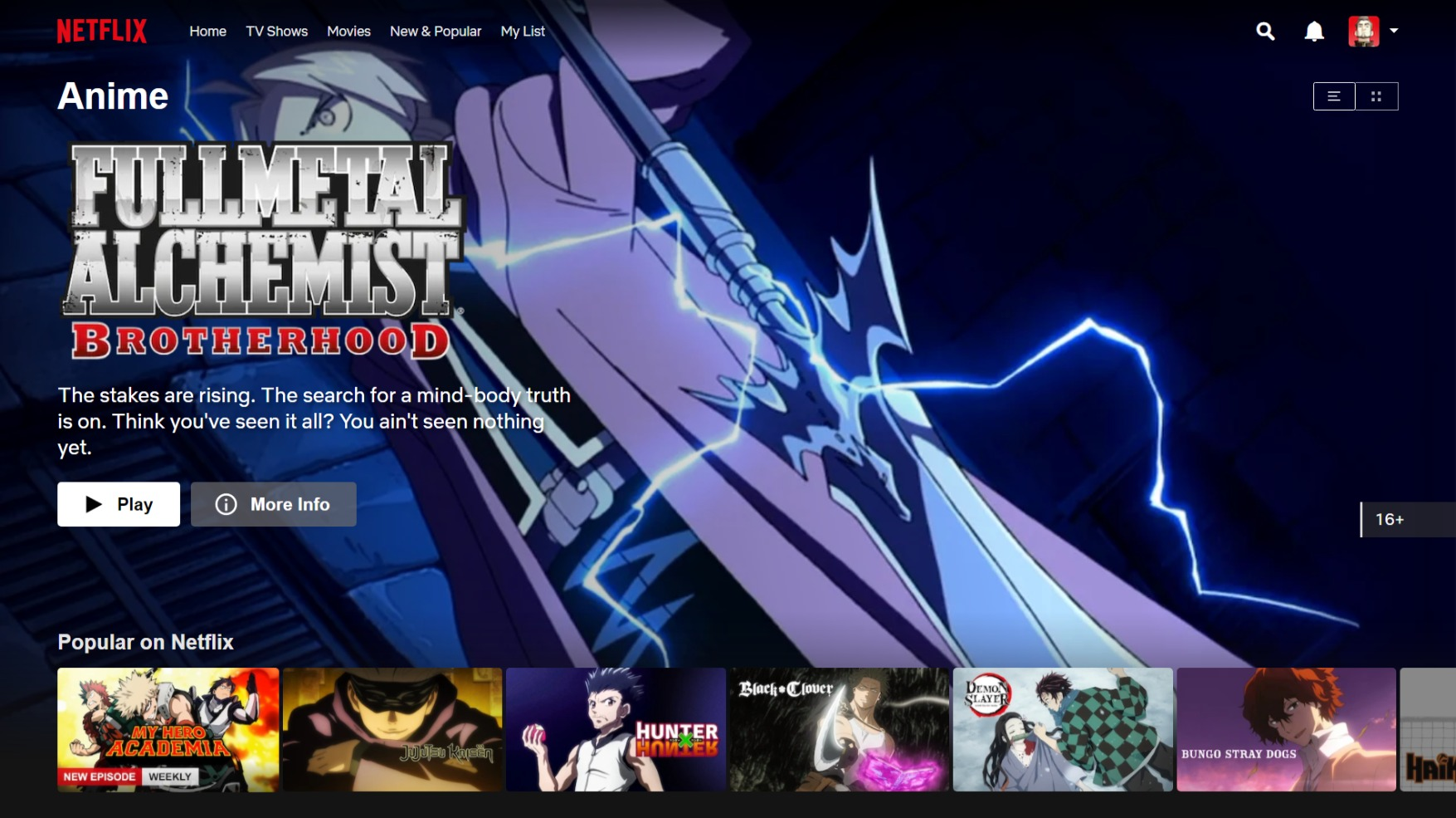 Best Anime Streaming Sites to Watch Anime Free - Netflix