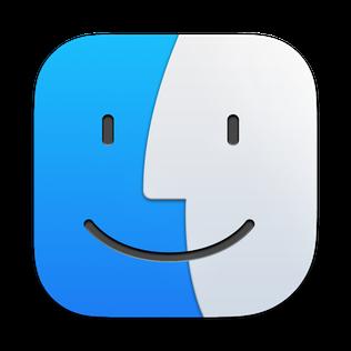 Finder icon in macOS Big Sur