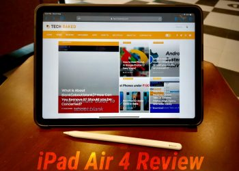 iPad Air 4 (2020) with Apple Pencil Review